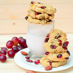 Cranberry Almond Cookie