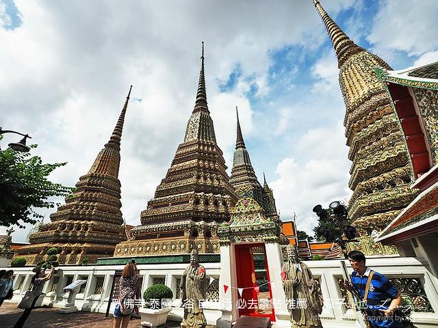 臥佛寺 泰國曼谷 自由行 必去景點 推薦 58