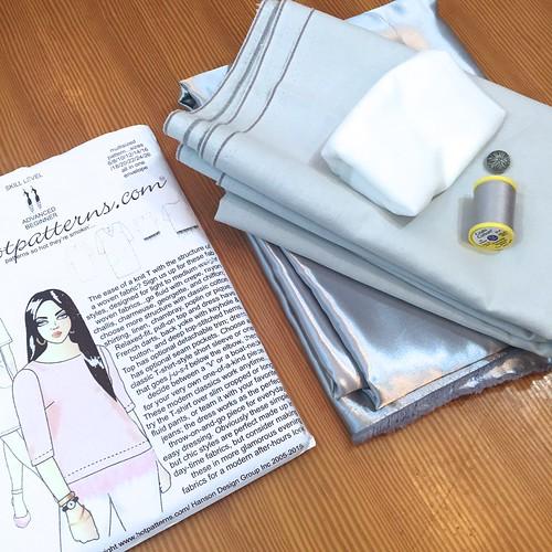 Hot Patterns Plain & Simple Woven T-Shirt Dress Sew-Along: Supplies