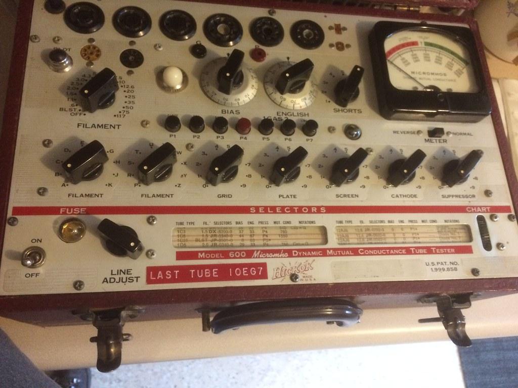 Hickok 600 tube tester