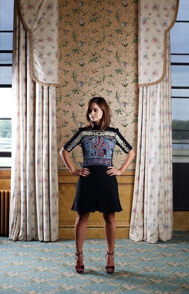 Дженна Коулман — Фотосессия для «The Telegraph» 2016 – 1