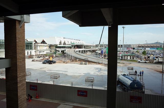 <p>以前の空港ビルが今工事中</p>