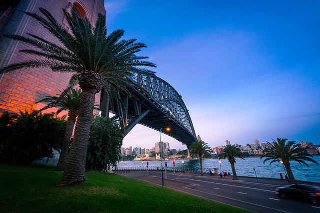 Harbour Bridge perspective