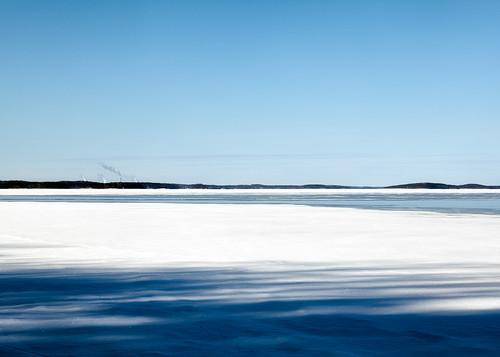 winter snow ice skiing saimaa imatra