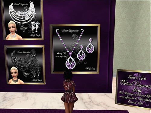 Virtual Impressions Carole in Amethyst, Group Gift by Cherokeeh Asteria