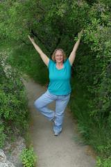 Yoga at Montezuma's Well
