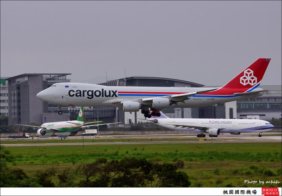 Cargolux LX-VCD貨機006