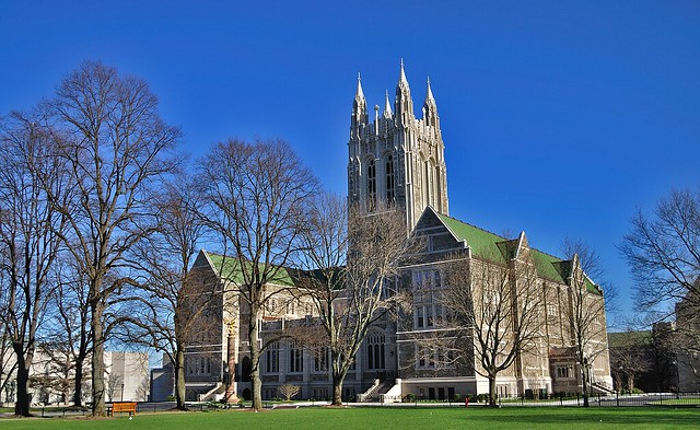 Gasson Hall at Boston College