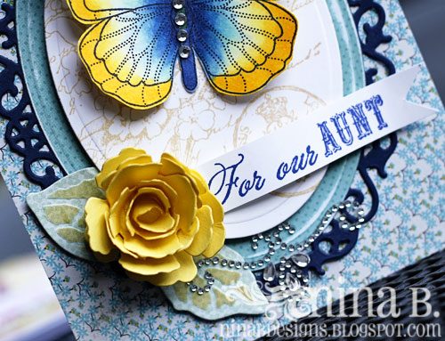 Butterfly-Aunt-flower