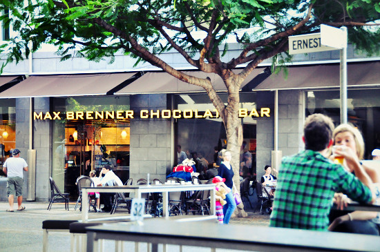 Max Brenner Chocolate Bar Southbank
