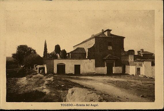 Ermita del Cigarral del Santo Ángel Custodio a comienzos del siglo XX