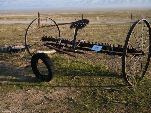 A Sulky Rake at Traver Ranch in Carrizo Plain National Monument, California