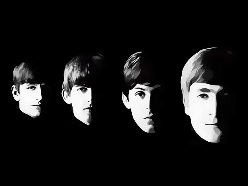 The Beatles Digital Art by David Alexander Elder