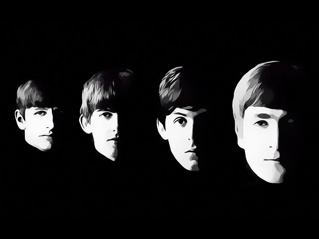 The Beatles Digital Art by David Alexander Elder