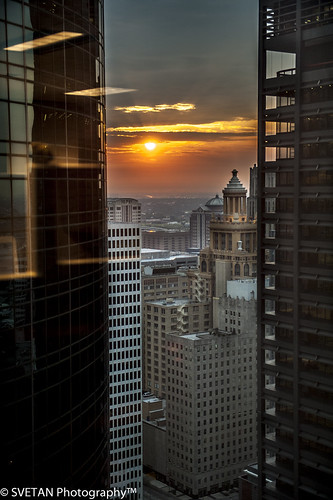 sunrise downtown texas tx houston urbania russiantexan anvarkhodzhaev svetanphotography