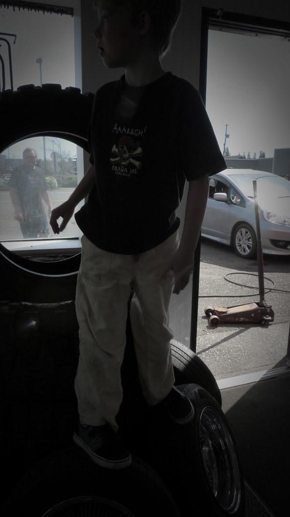 Tire Store Boy