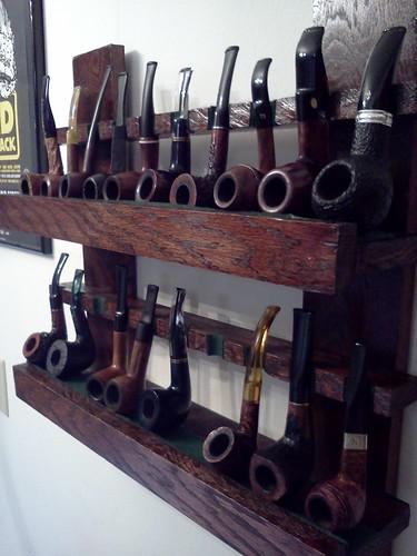 Pipe rack I built 7224019630_5302791b99