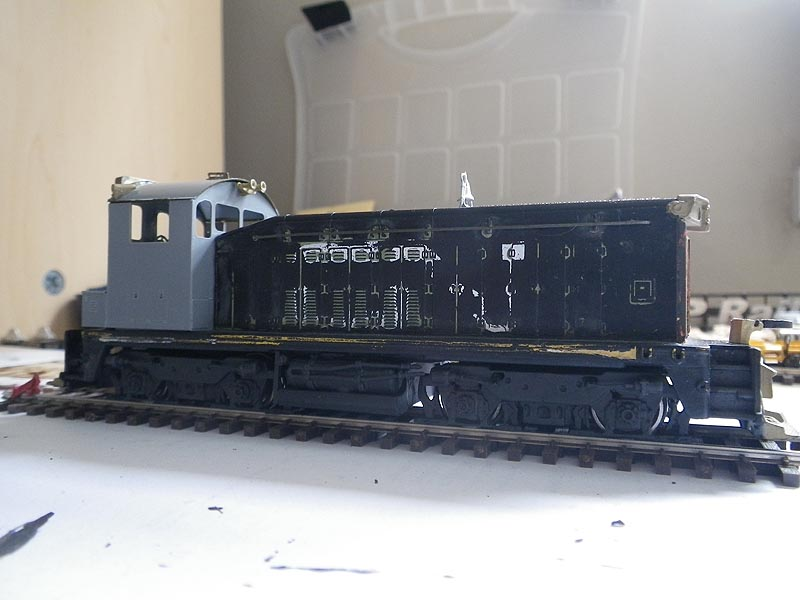 Athearn SW7 to SW1200RS Conversion Side View | Conversion of… | Flickr