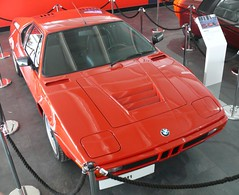 BMW M1 1978 red vro