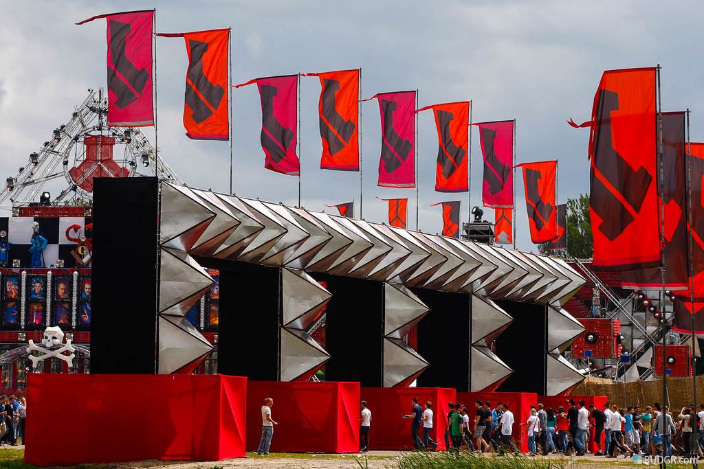 The epic RED stage at Defqon.1