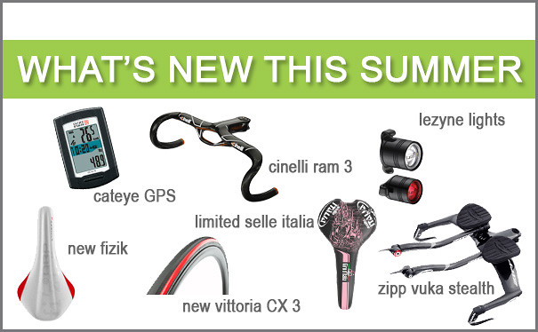 What's new for summer 2013