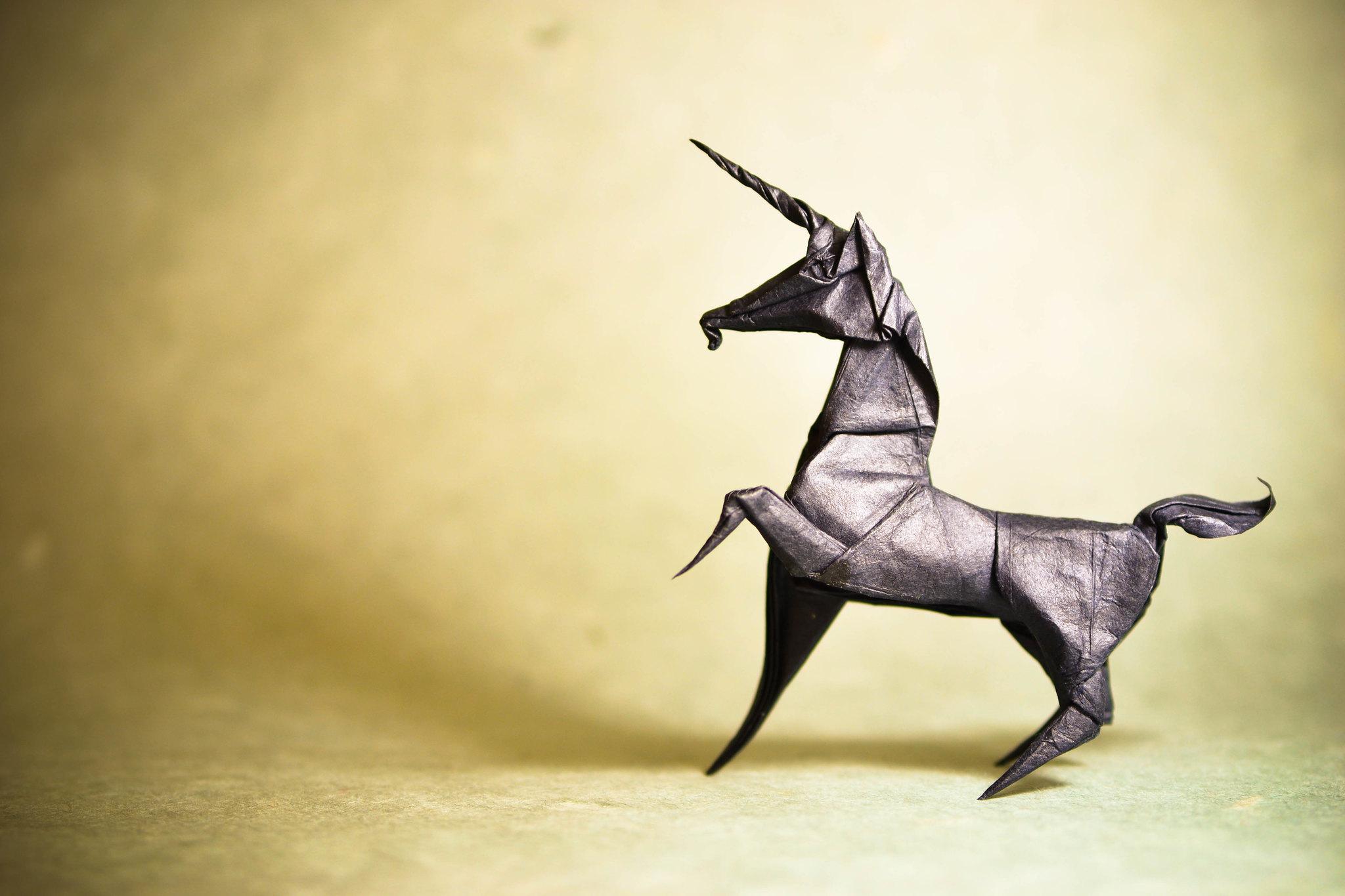 Origami Unicorn - Román Díaz