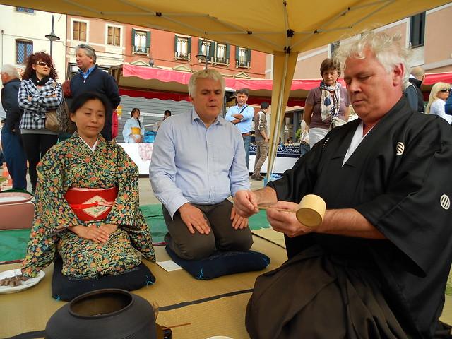cerimonia del te giapponese - Monselice