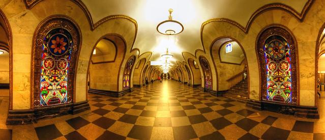 moscow metro panorama