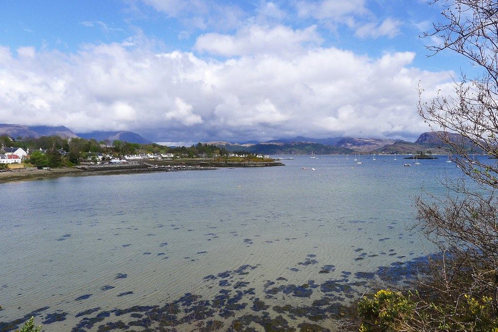 Clear waters of Plockton Harbour