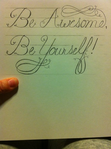 Be Awesome, Be Yourself! - image 1 - student project