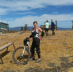 Grokette at Angel Fire Bike Park