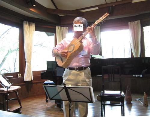 仙人さんのバロックギター・ソロ 2013年5月25日 by Poran111