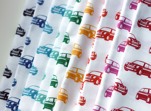 mini cooper fabric by vitamini
