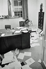 Damage from Attempted Arson at U of MD: May 1970