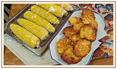 Fresh corn...and Fritters, too!