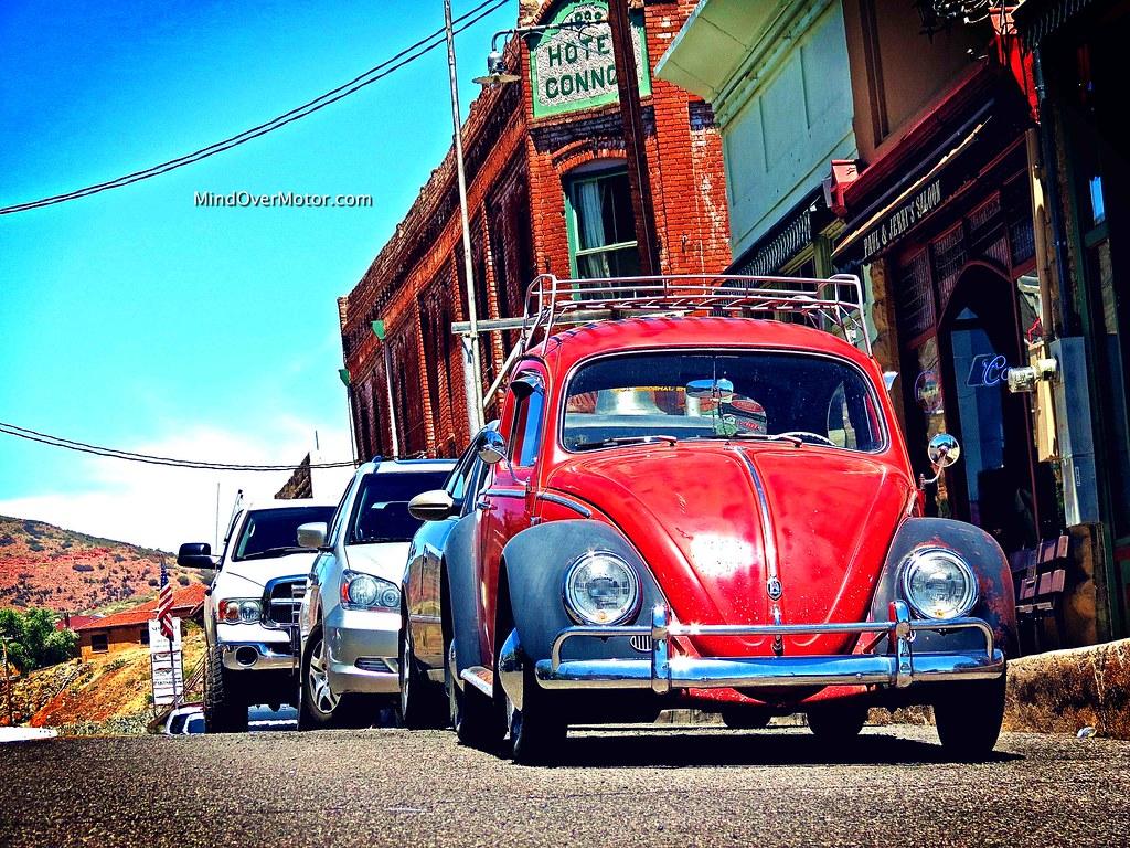 spotted  vintage volkswagen beetle jerome az mind  motor