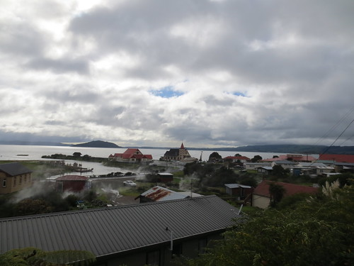 The view to St Faith's and Lake Rotorua