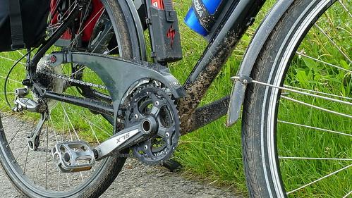 20130529 Fahrrad Dreck Wittenberg nach Torgau Elbe Radweg (25)