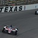 Takuma Sato and Helio Castroneves at Texas Motor Speedway