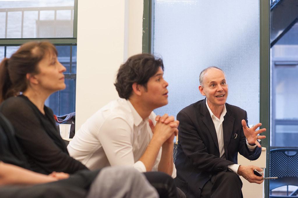 Kent Kleinman visiting critics.