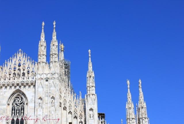 Milan Duomo top by Chic n Cheap Living