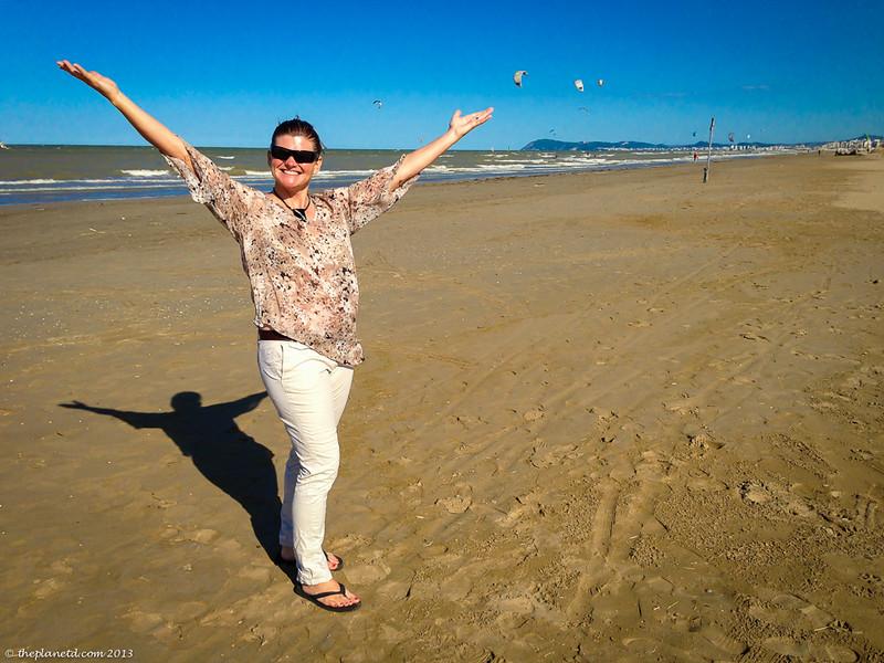 rimini italy beach