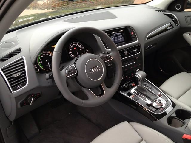 Prueba Audi Q5 Hybrid interiores (29)