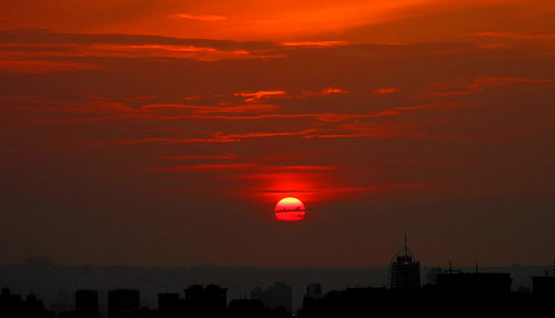 Today's Sunset in Taipei