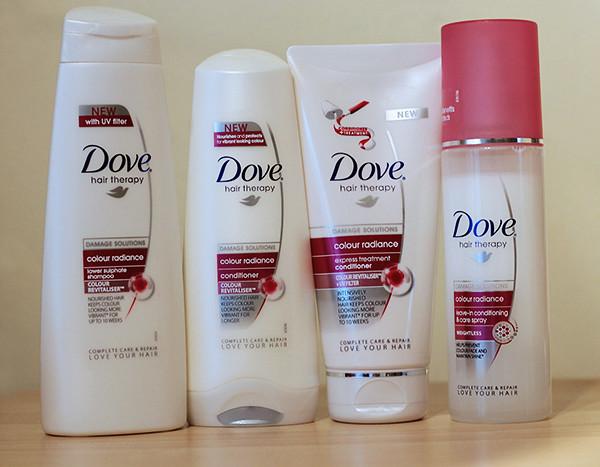 Dove Colour Radiance Range