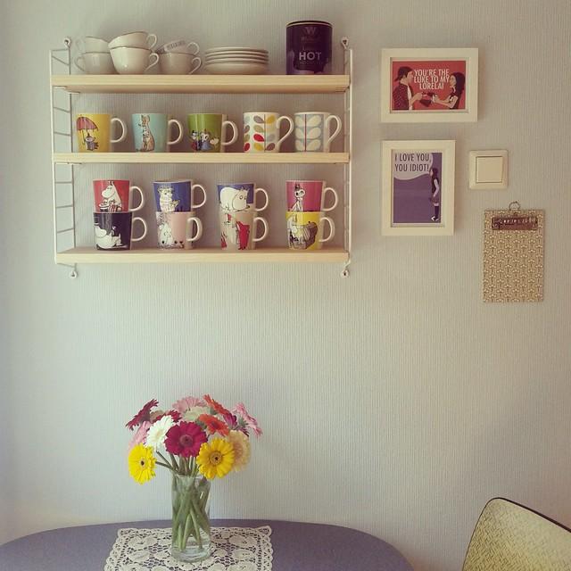 New shelf.