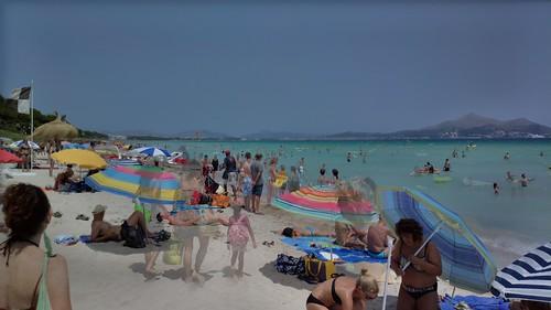 Playa de Alcudia HDR