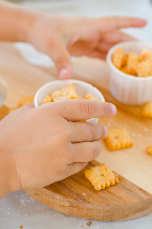 Homemade Cheez-It Snack Crackers
