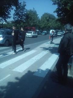 Paris 2-way cycletrack