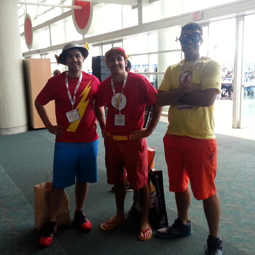 Flash Trio on Casual Day